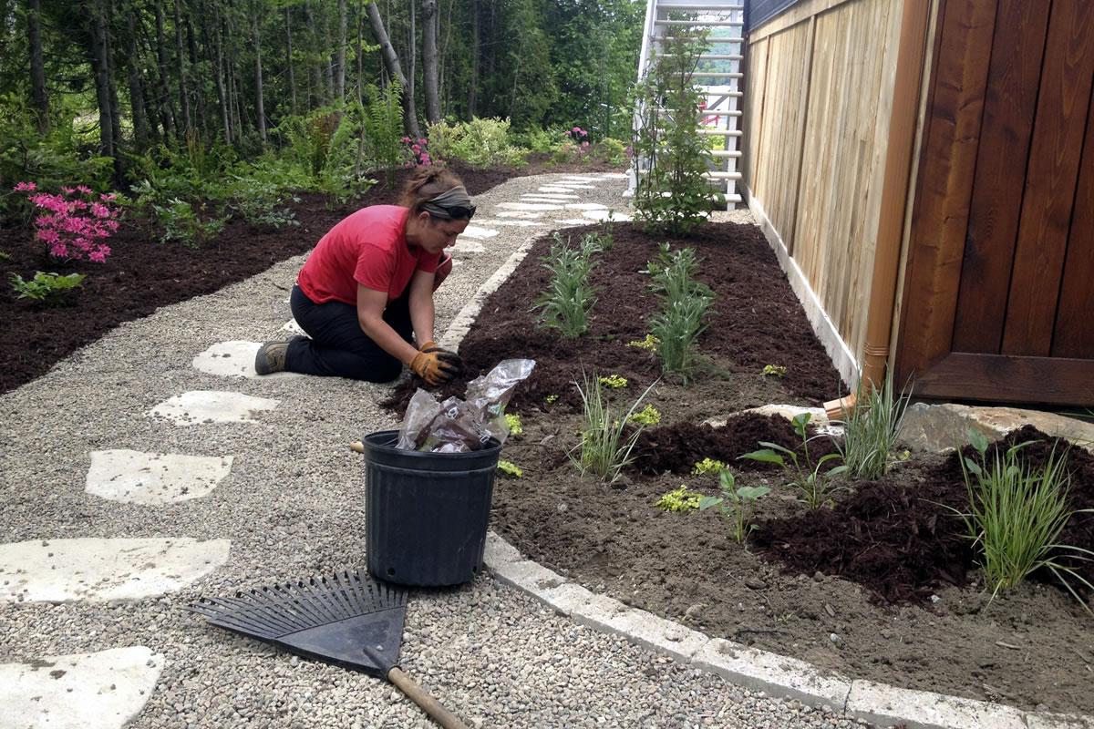 Entretien paysager paysagiste p pini re du parc for Youtube entretien jardin